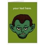 Vampire Growl Greeting Cards