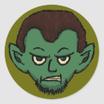 Vampire Growl Stickers