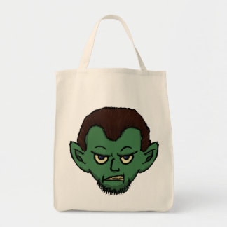 Vampire Growl Tote Bag