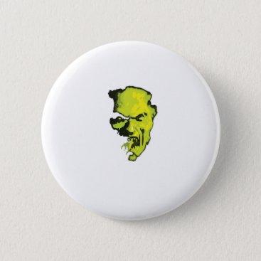 Halloween Themed Vampire Halloween Horror Gift Party Pinback Button