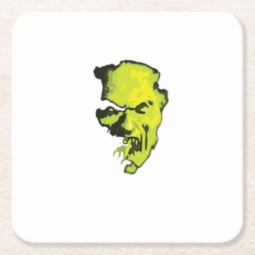 Halloween Themed Vampire Halloween Horror Gift Party Square Paper Coaster