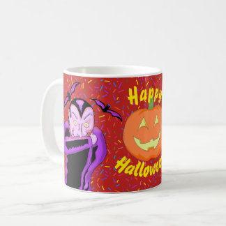 Vampire Halloween Mug