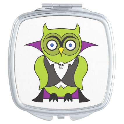 Vampire Halloween Owl Mirrors For Makeup