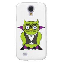 Vampire Halloween Owl Samsung S4 Case