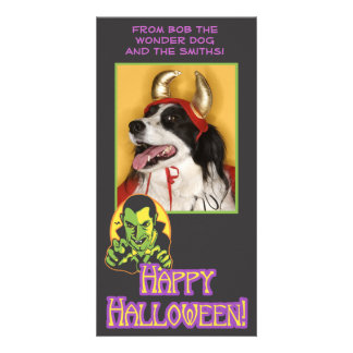 Vampire Halloween Photo Card