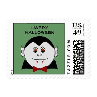 Vampire Halloween Postage