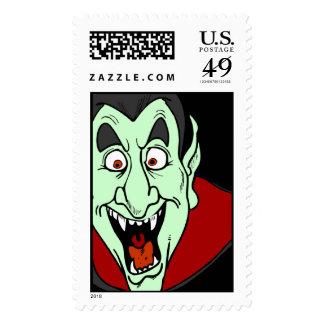 Vampire Halloween  Postage stamps