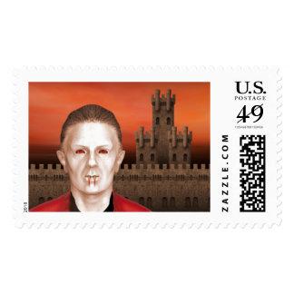 Vampire - Halloween Stamps