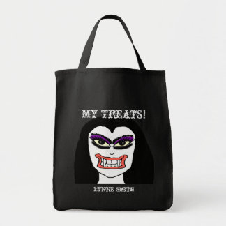Vampire Halloween Treat Bag
