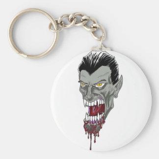 Vampire Head Drawing Keychains