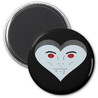 Vampire Heart Face Magnet