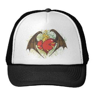 Vampire Heart Mesh Hats