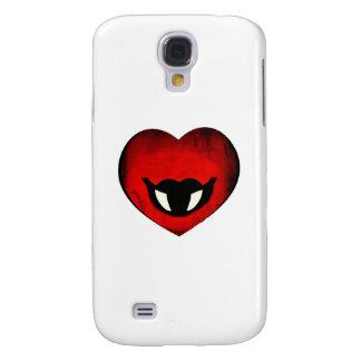 Vampire Heart Smiley Galaxy S4 Cover