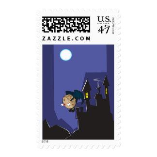 Vampire hedgehog postage