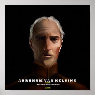 Vampire hunter Abraham Van Helsing Poster