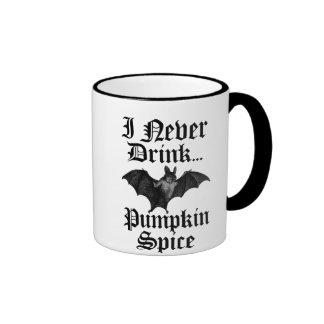 Vampire I Never Drink Pumpkin Spice Coffee Mug