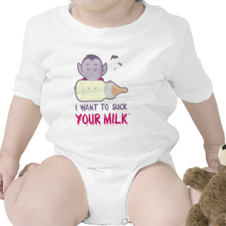 Vampire - I Want to Suck Your Milk Tshirt