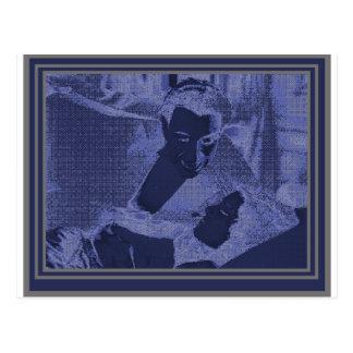 Vampire in the Blue Light Postcard