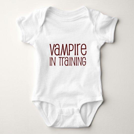 Vampire In Training Baby Bodysuit