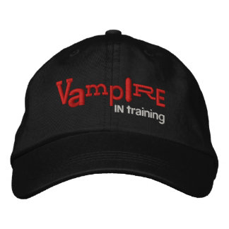 VAMPIRE In Training Halloween Embroidery Hat