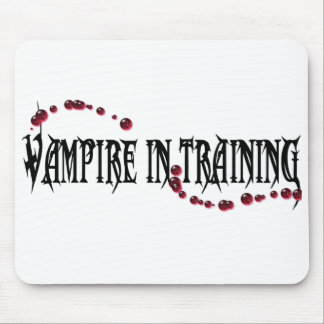 Vampire in Training Mouse Pad