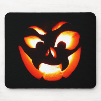 Vampire Jack-O-Lantern Mouse Pad