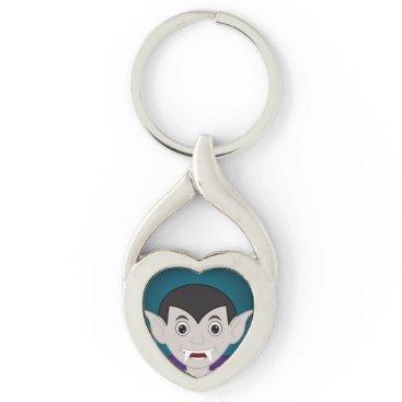 Halloween Themed Vampire Keychain