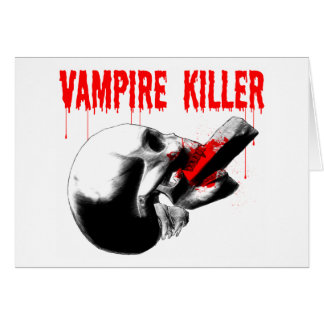 Vampire Killer Card