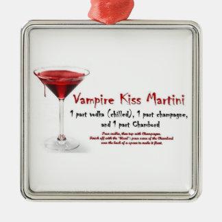 vampire kiss martini ornament