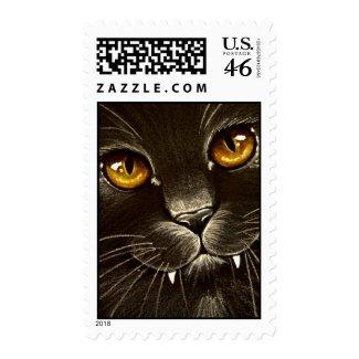 Vampire Kitty! stamp