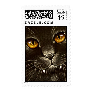 Vampire Kitty! Postage Stamp