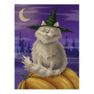 Vampire Kitty Postcard