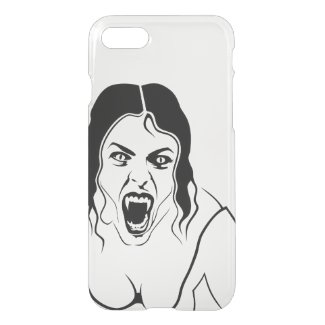 Vampire Lady iPhone 7 Clearly™ Deflector Case