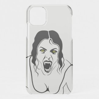 Vampire Lady... iPhone 11 Case