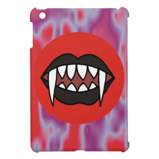 Vampire Lips with Black Lipstick Case For The iPad Mini