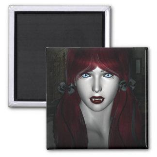 Vampire Lolita Gothic 3D Magnet