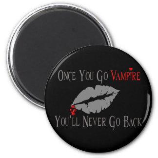 Vampire Love 2 Inch Round Magnet