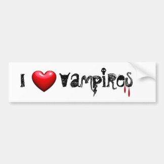 Vampire Love Bumper Sticker