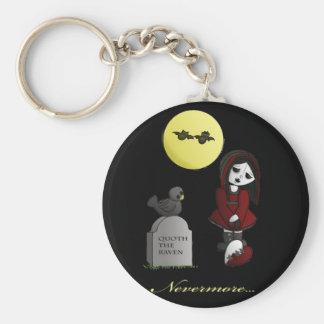 Vampire Love cute dolly broken heart nevermore Keychain
