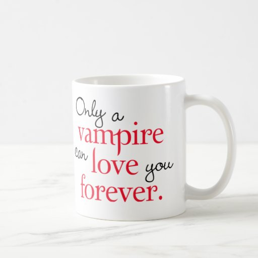 Vampire Love Forever mug