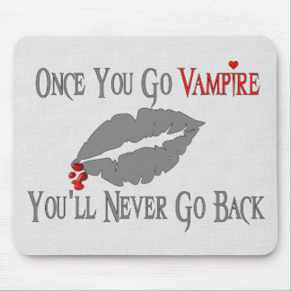 Vampire Love Mouse Pad