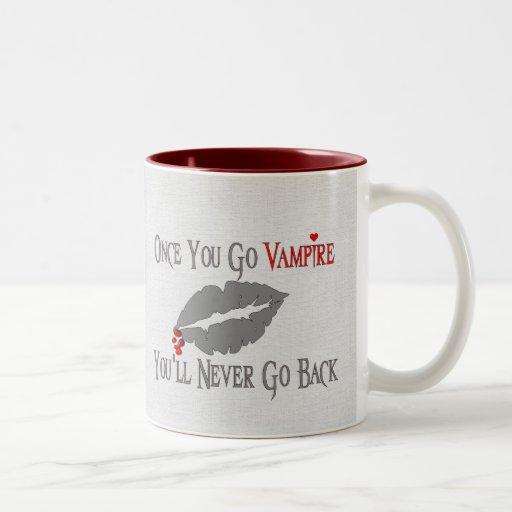 Vampire Love Two-Tone Coffee Mug