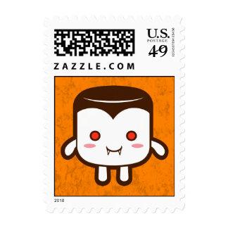Vampire marshmallow stamp