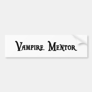 Vampire Mentor Sticker