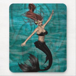 Vampire Mermaid .. creature of the sea Mouse Pad