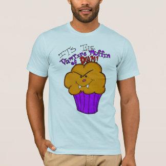 Vampire Muffin of Doom men's tee
