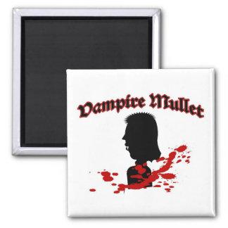 Vampire Mullet 2 Inch Square Magnet