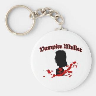 Vampire Mullet Keychain