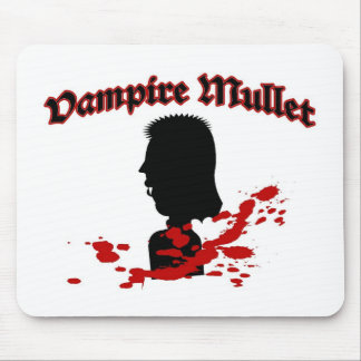 Vampire Mullet Mouse Pad