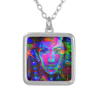 Vampire-Night Dancer Silver Plated Necklace